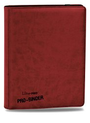 Premium PRO-BINDER 9-Pocket Cards, Red