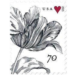 Vintage Tulip Sheet of 20 x 70 Cent U.S. Postage Stamps
