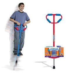 Large Jumparoo Boing! II Pogo Stick by Air Kicks for Riders 86 to 160 Lbs.Assorted Color(Blue or Red)