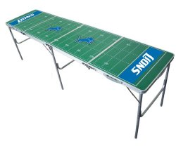 Detroit Lions 2×8 Tailgate Table by Wild Sports