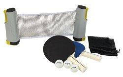 STIGA Retractable Anywhere Table Tennis Set
