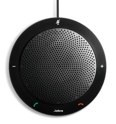 Jabra SPEAK410 USB Speakerphone for Skype, Lync and other VoIP calls – Retail Packaging – Black