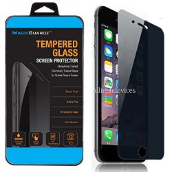 MagicGuardz Anti-Spy Tempered Glass Screen Protector Shield 5.5 Inch for iPhone 6 Plus – Retail Pack