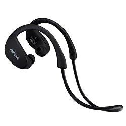 Mpow Cheetah Wireless Bluetooth 4.1 Sports Headphones with Nano-coating Sweatproof (Cool Black)