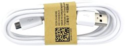 Samsung Micro USB Data Cable for Galaxy S3/S4/Note 2 & Other Smartphones – Non-Retail Packaging – White