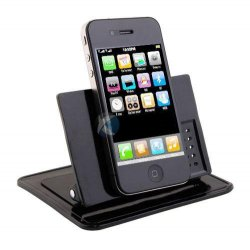 Xenda Universal Rotating Dash Smart Stand Car, Desk, Desktop Mount Dashboard Holder with Sticky Mats for Cell Phones, Smartphones, GPS Devices, iPhone, iPod