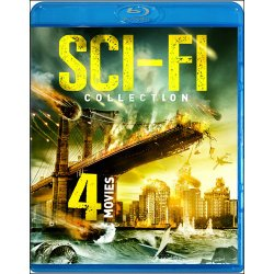 4-Movie Sci-Fi Collection: Megafault / Population 2 / Fire From Below / A Thousand Kisses Deep [Blu-ray]