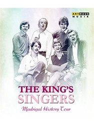 A Madrigal History Tour – The King's Singers [Blu-ray]