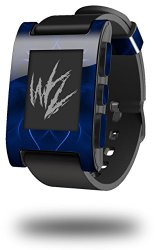 Abstract 01 Blue – Decal Style Skin fits original Pebble Smart Watch (WATCH SOLD SEPARATELY)