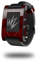 Abstract 01 Red – Decal Style Skin fits original Pebble Smart Watch (WATCH SOLD SEPARATELY)