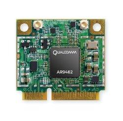 AR9462 AR5B22 Combo WiFi 2.4G/5G & Bluetooth 4.0 module, 802.11 ABGN Dual Band, 2T/2R Mini PCI-Express Half-Size Module, Atheros AR9462 chipset