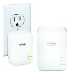 D-Link PowerLine AV2 1000 Gigabit Network Extender Kit (DHP-601AV)