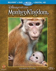 Disneynature: Monkey Kingdom 2-Disc Blu-ray Combo Pack