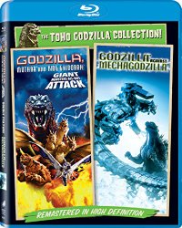 Godzilla Against Mechagodzilla (2002) / Godzilla, Mothra, and King Ghidorah: Giant Monsters All-Out Attack – Set [Blu-ray]