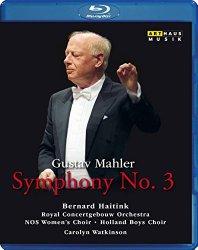 Gustav Mahler: Symphony No 3 [Blu-ray]