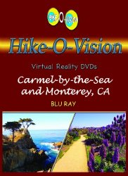 Hike-O-Vision Trek- Carmel-by-the-Sea and Monterey, CA. BR [Blu-ray]