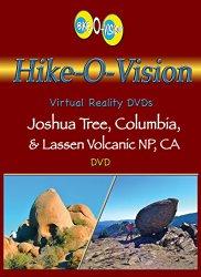 Hike-O-Vision Trek – Joshua Tree, Columbia & Lassen Volcanic NP, CA [Blu-ray]