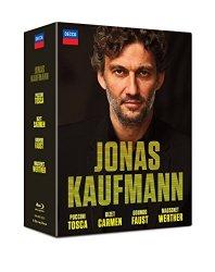 Jonas Kaufmann – Carmen – Tosca – Faust – Werther [4 Blu-ray]