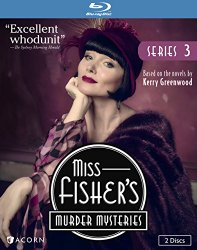 Miss Fisher's Murder Mysteries, Series 3 [Blu-ray]
