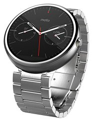 Motorola Moto 360 – Light Metal, 23mm, Smart Watch