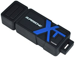 Patriot 256GB Supersonic Boost Series USB 3.0 Flash Drive with Up to 150MB/Sec – PEF256GSBUSB