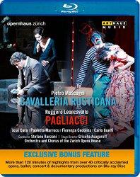 Pietro Mascagni: Cavalleria Rusticana – Ruggero Leoncavallo: Pagliacci (Blu-ray Sampler)