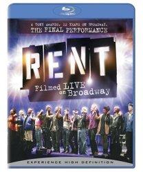 Rent: Filmed Live on Broadway [Blu-ray]