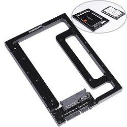 Sabrent 2.5″ SSD & SATA Hard Drive to Desktop 3.5″ SATA Bay Converter Mounting Kit (BK-PCBS)