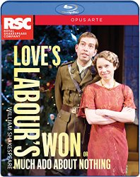 Shakespeare: Love's Labour's Won (Much Ado About Nothing) [Blu-ray]