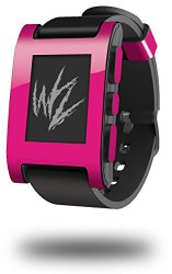 Solids Collection Fushia – Decal Style Skin fits original Pebble Smart Watch (WATCH SOLD SEPARATELY)