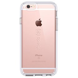 Speck Products CandyShell Case for iPhone 6/6S – Retail Packaging- Clear/Clear