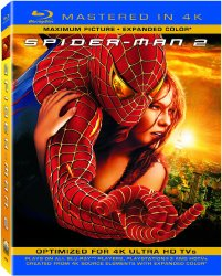 Spider-Man 2 (Mastered in 4K) (Single-Disc Blu-ray + UltraViolet Digital Copy)