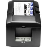 Star Micronics, TSP654IID-24 GRY US, Thermal Receipt Printer, Serial, Auto Cutter, External Power Supply Incl.