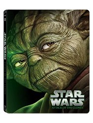 Star Wars: Episode II – Attack of the Clones Steelbook [Blu-ray]