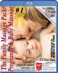 The New Family Massage Pack: Pregnancy Massage & Baby Massage Instructional Video — 2 disc set [Blu-ray]
