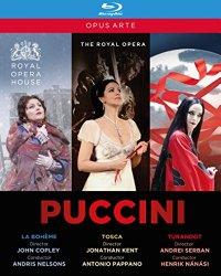 The Puccini Opera Collection [Blu-ray]