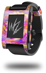 Tie Dye Pastel – Decal Style Skin fits original Pebble Smart Watch (WATCH SOLD SEPARATELY)