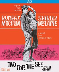 Two For the Seesaw (1962) [Blu-ray]