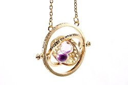 Neverland Harry Potter inspired necklace Hermione Rotating Time Turner necklace Granger Props