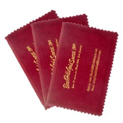 Silver Cleaning Cloth for Jewelry, Coins and Other Valuables – 3-pack