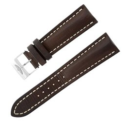 Breitling 24 – 20 mm Brown Leather Strap