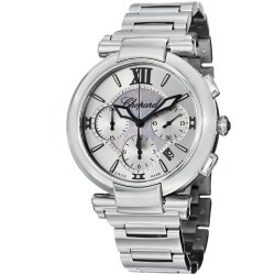 Chopard Imperiale Chronograph Mother Of Pearl Dial Stainless Steel Ladies Watch 388549-3002