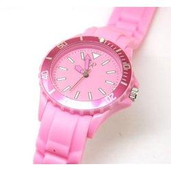 Reflex Rotating Bezel Pink Silicone Strap Ladies Watch SR009