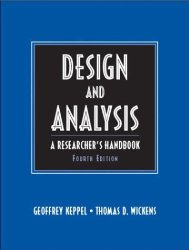 Design and Analysis: A Researcher's Handbook (4th Edition)
