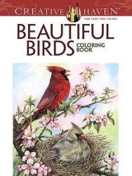 Creative Haven Beautiful Birds Coloring Book (Creative Haven Coloring Books)