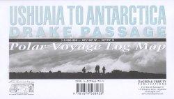 Ushuaia to Antarctica – Drake Passage Map: Polar Voyage Log Map