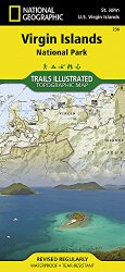 Virgin Islands National Park (National Geographic Trails Illustrated Map)