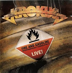 KROKUS – FIRE AND GASOLINE LIVE! GREATEST HITS 2CD SET