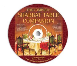 The Shabbat Table Companion (Audio CD)