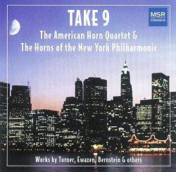 Take 9 – Works by Bernstein, Brahms, Desmond, Ewazen, Gershwin and Turner for Horn Ensemble
